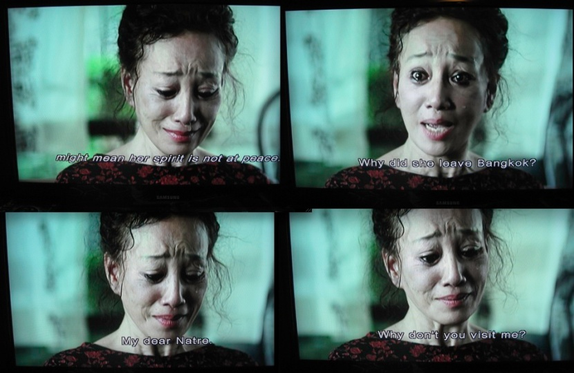 Poor woman... but hey, a cremation always fixes everything in Asian horror movies, right?