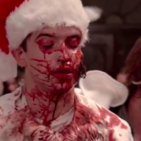 "New American Horror Story Asylum Official Featurette - Makeup/Gore Effects for Face-Chewed-Off Scene in ""Unholy Night' - Watch Behind The Scenes Here!"