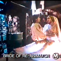"""Have a Happy (Slightly Belated) Valentine's Day With This Rare UK """"Bride of Re-animator"""" Trailer!"""